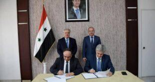 بحضور وزير السياحة ومحافظ حمص توقيع ملحق عقد فندق السفير في حمص