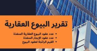 وزارة المالية تطلق أول تقرير للبيوع العقارية