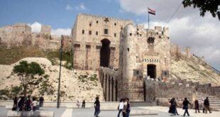 متحف حلب الوطني يزيل الستار عن تمثال أثري يعود إلى العهد الآرامي بعد جمع أجزائهِ وترميمهِ وإعادة عرضه
